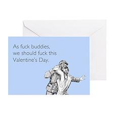 Fuck Buddies Greeting Card