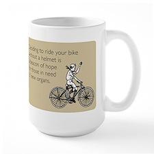 Helmetless Hope Large Mug