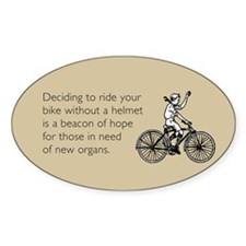Helmetless Hope Decal