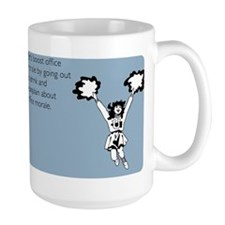 Boost Office Morale Large Mug
