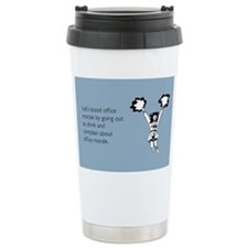 Boost Office Morale Stainless Steel Travel Mug