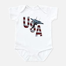 USA Eagle Infant Bodysuit