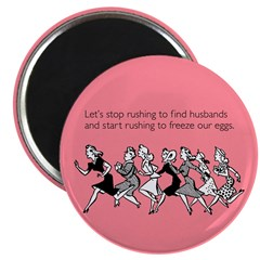 Freeze Our Eggs Magnet