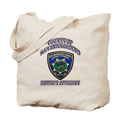 San Bernardino District Attor Tote Bag