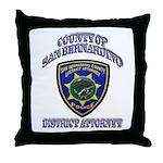 San Bernardino District Attor Throw Pillow