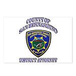 San Bernardino District Attor Postcards (Package o