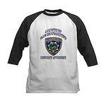 San Bernardino District Attor Kids Baseball Jersey
