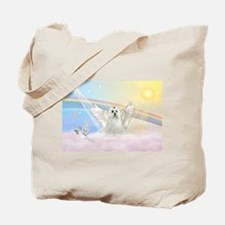 Maltese Angel (C) Tote Bag