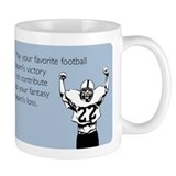 Fantasy football Small Mugs (11 oz)
