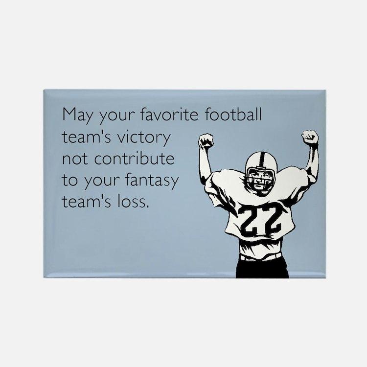 Fantasy Football Rectangle Magnet