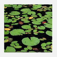 Lilypads Tile Coaster