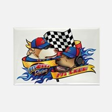 Pit Crew Rectangle Magnet