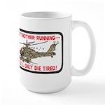 Don't Bother Running Large Mug