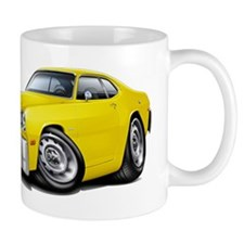 Duster Yellow Car Mug