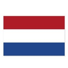 Dutch Flag Postcards (Package of 8)