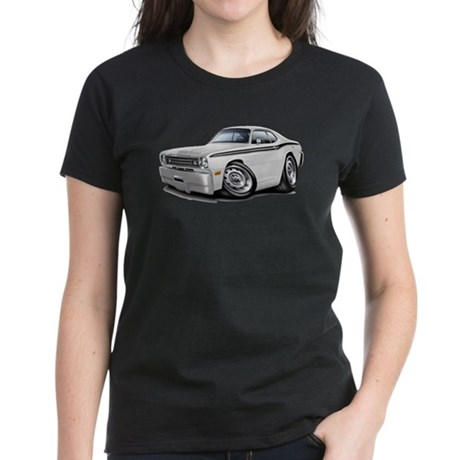 Duster White-Black Car Women's Dark T-Shirt
