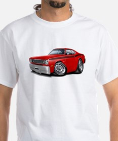 Duster Red-Black Car Shirt
