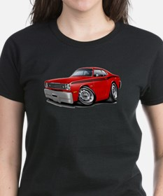 Duster Red-Black Car Tee