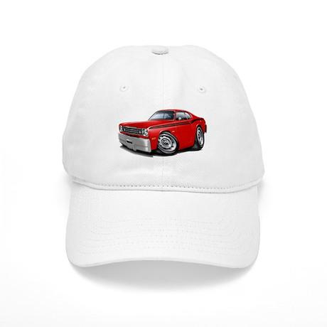 Duster Red-Black Car Cap