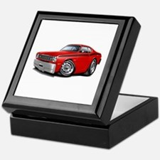 Duster Red-Black Car Keepsake Box