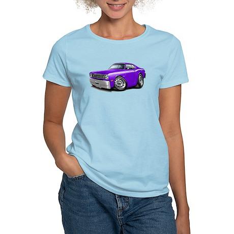 Duster Purple-White Car Women's Light T-Shirt