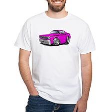 Duster Pink-Black Car Shirt