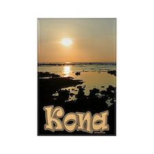 Kona Gold Rectangle Magnet