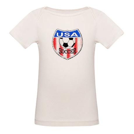 USA SOCCER Organic Baby T-Shirt