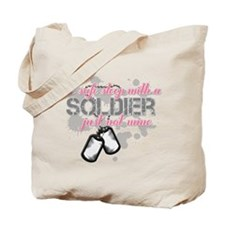 Cool Army mom infantry Tote Bag