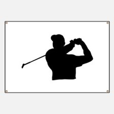 Golfer Banner