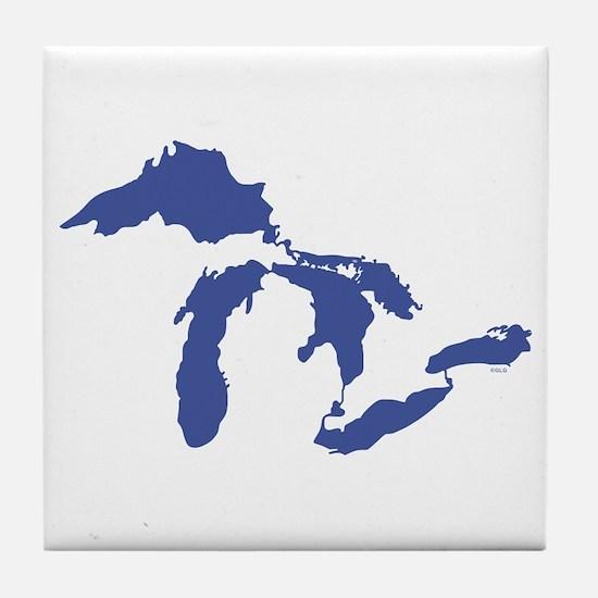 Great Lakes Tile Coaster