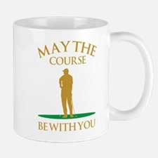 May The Course Be With You Small Small Mug