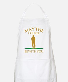 May The Course Be With You Apron