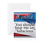 Quotes from Castle Greeting Card