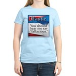 Quotes from Castle Women's Light T-Shirt