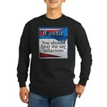 Quotes from Castle Long Sleeve Dark T-Shirt