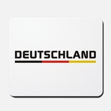 Soccer DEUTSCHLAND Stripe Mousepad