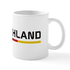 Soccer DEUTSCHLAND Stripe Mug