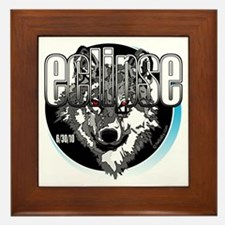 Eclipse Wolf 6/30/10 by twibaby Framed Tile