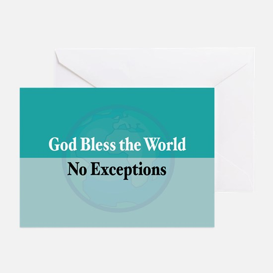 Bless the World Greeting Cards (Pk of 10)