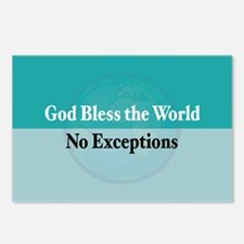 Bless the World Postcards (Package of 8)