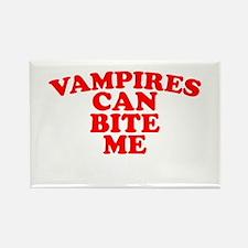 VAMPIRES can bite me Rectangle Magnet