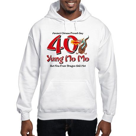 Yung No Mo 40th Birthday Hooded Sweatshirt