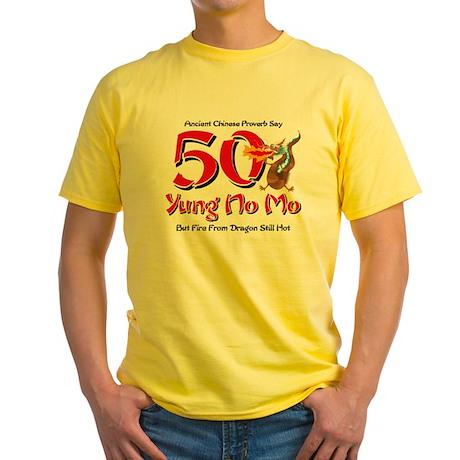 Yung No Mo 50th Birthday Yellow T-Shirt