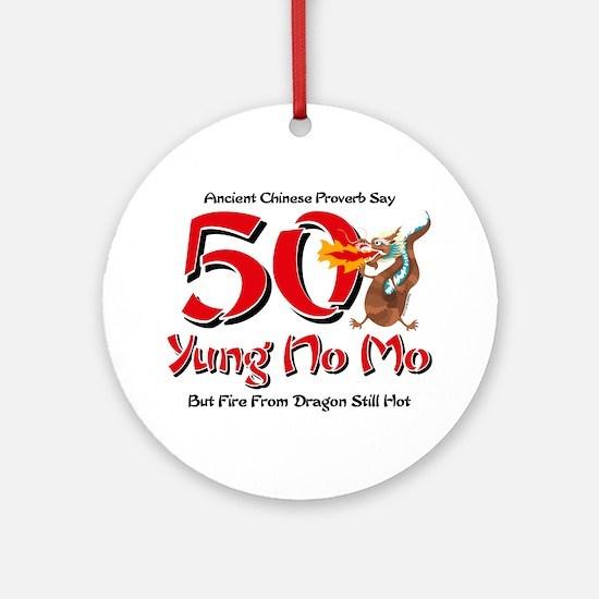 Yung No Mo 50th Birthday Ornament (Round)