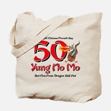 Yung No Mo 50th Birthday Tote Bag