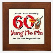 Yung No Mo 60th Birthday Framed Tile