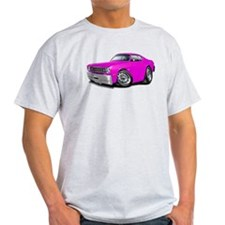 Duster Pink Car T-Shirt