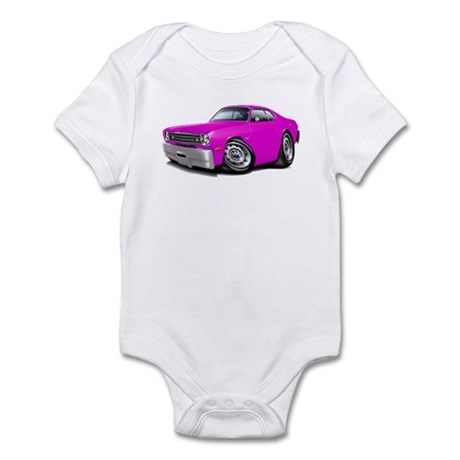 Duster Pink Car Infant Bodysuit
