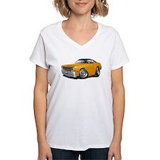 Duster Orange-Black Car Shirt